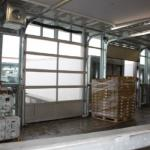 Warehouses - loading bays closer view from inside