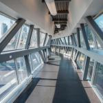 view from inside skybridge